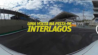 Uma volta 360º na pista de Interlagos (TV Folha)