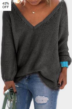 https://www.yoins.com/Dark-Grey-Classic-Design-Loose-Plunge-Sweater-p-1199605.html