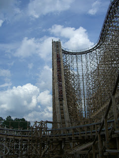 El Toro at Six Flags Great Adventure's Drop!