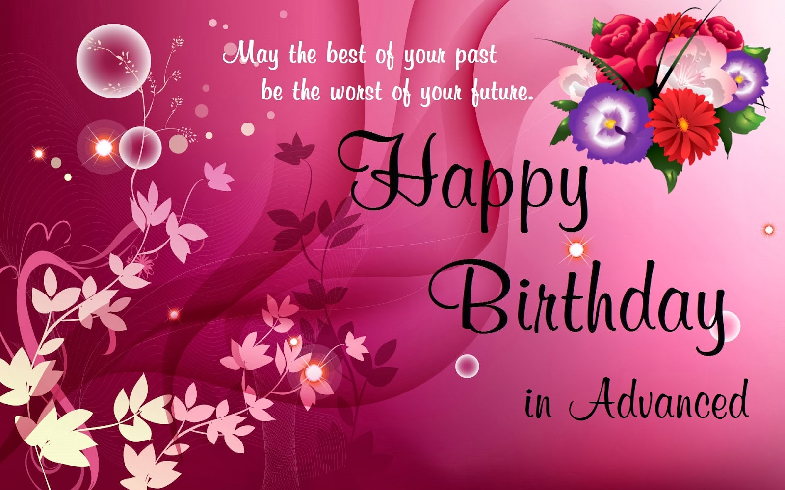Happy Birthday Wishes English Shayari ~ Romantic happy birthday wishes for wife with images and quotes