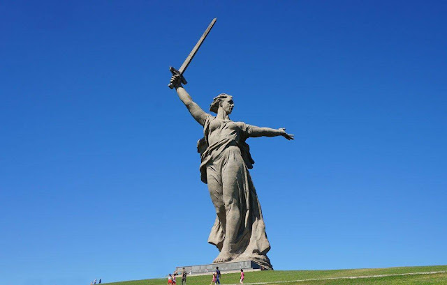 The Statue of Motherland