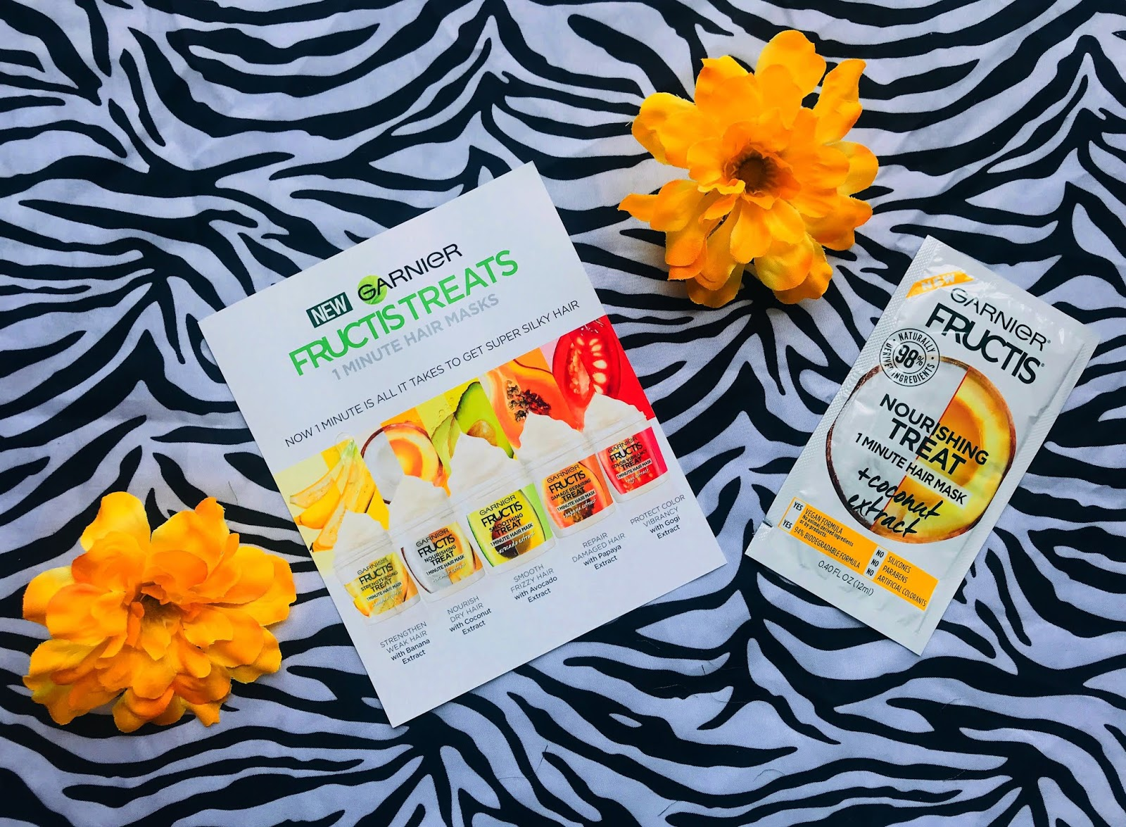 Garnier Fructis Hair Mask Review Drugstore Haircare Routine Stay