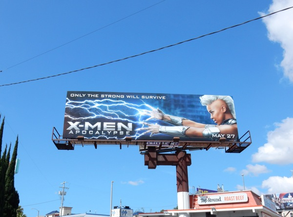 X-Men Apocalypse movie billboard