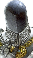 Imagen de Cabeza de Hierro, que tiene por cabeza un casco sin ranuras.