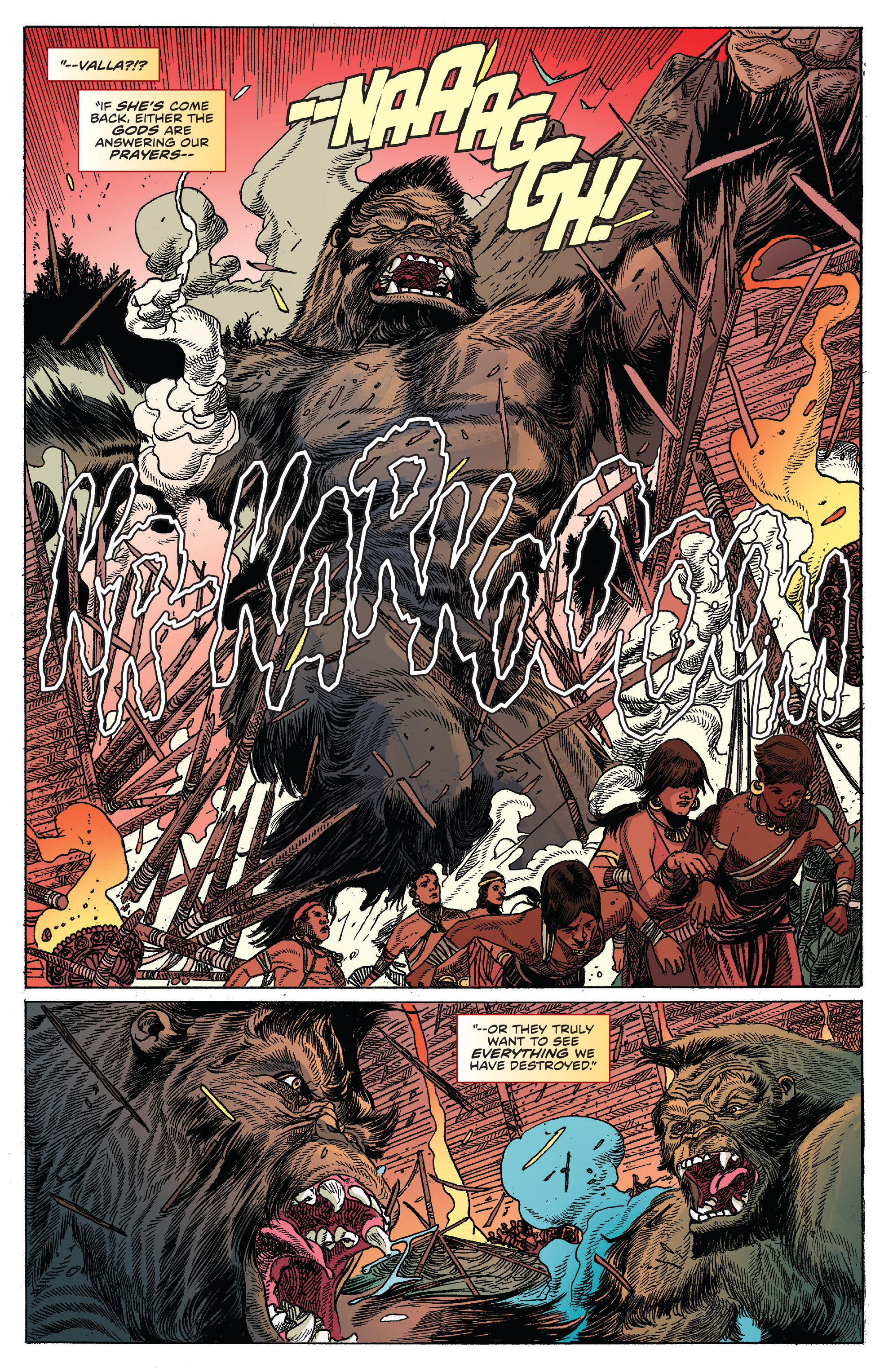 Read online Kong Of Skull Island comic -  Issue #12 - 9