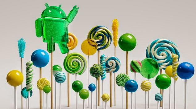 "Android 5.0 is Android ""L"" as in Lollipop"