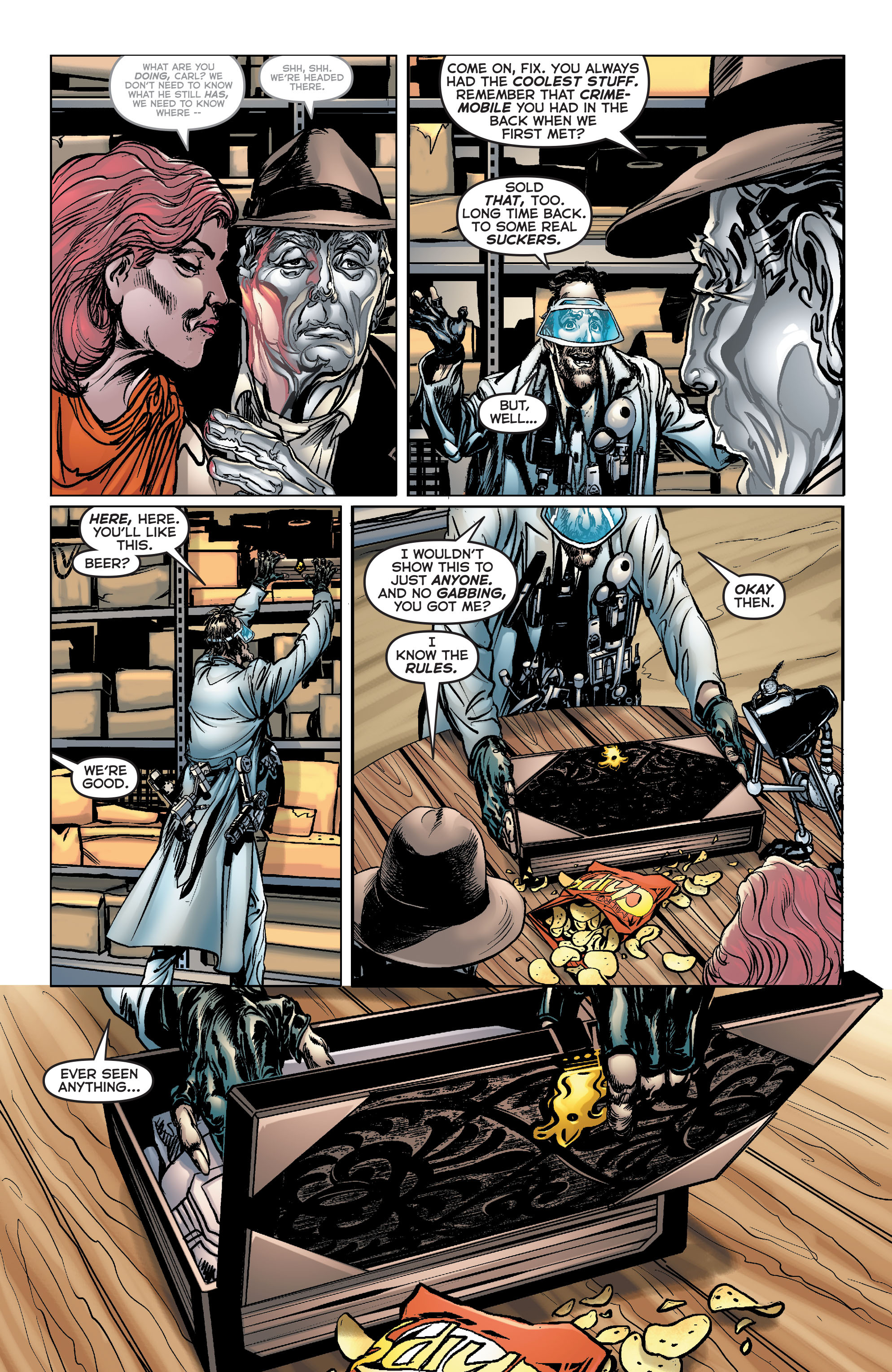 Read online Astro City comic -  Issue #33 - 11