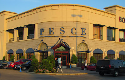 PESCE Italian Restaurant in Borders days at Kirby - West Alabama corner