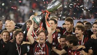 Kalahkan Juventus, AC Milan Juara Piala Super Italia