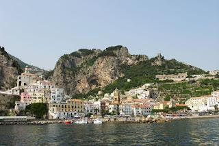 Amalfi Town Amalfi Coast Italy Costiera Amalfitana