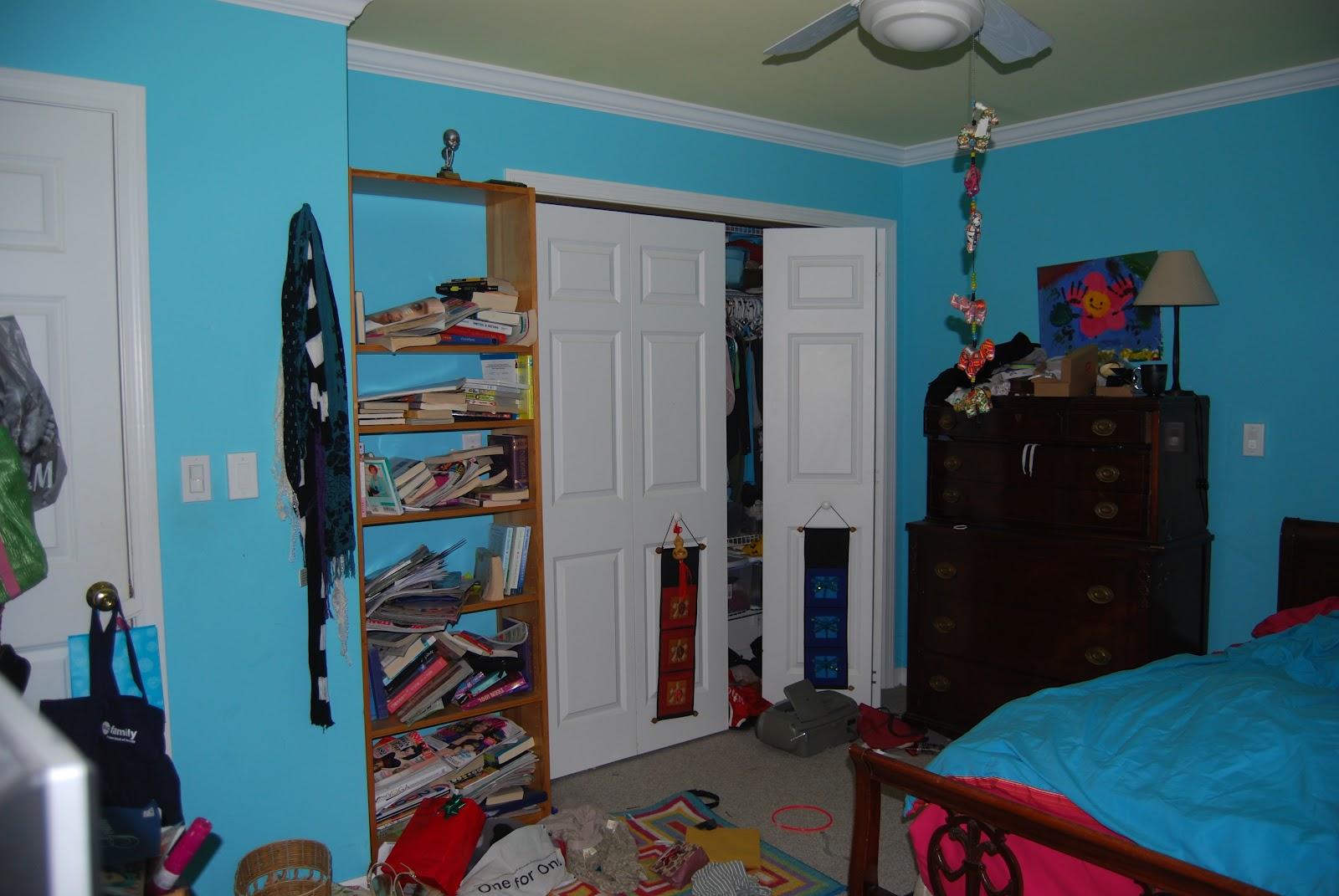 Sassy Vintage Finds A Messy Teenage Bedroom Transformed