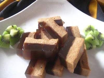 Gambar Resep Puding Busa Lapis Coklat Istimewa