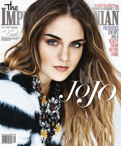 Joanna JoJo Levesque The Improper Bostonian Magazine Cover