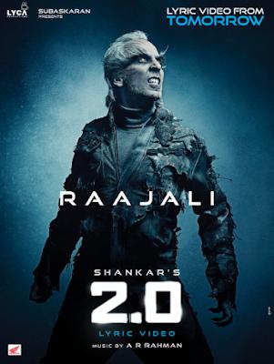 Akshay Kumar And Rajnikanth Film 2.0 Lyric Video