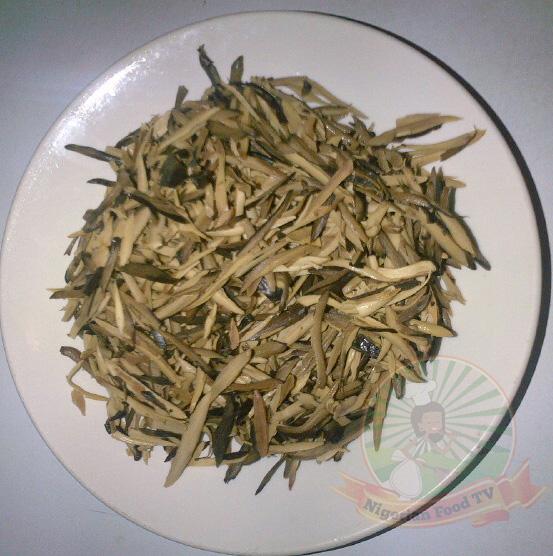 African Salad, Abacha and Ugba (African Salad)