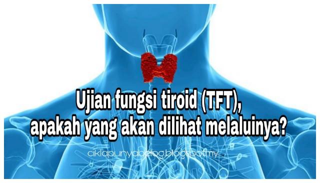 Ujian fungsi tiroid (TFT), apakah yang akan dilihat melaluinya?