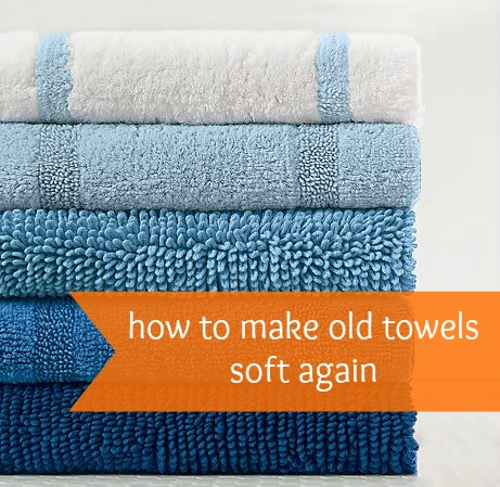DIY how to make old towels soft again