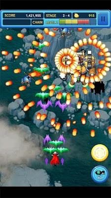 لعبة gunbird 2 مهكرة للأندرويد، لعبة gunbird 2 كاملة للأندرويد