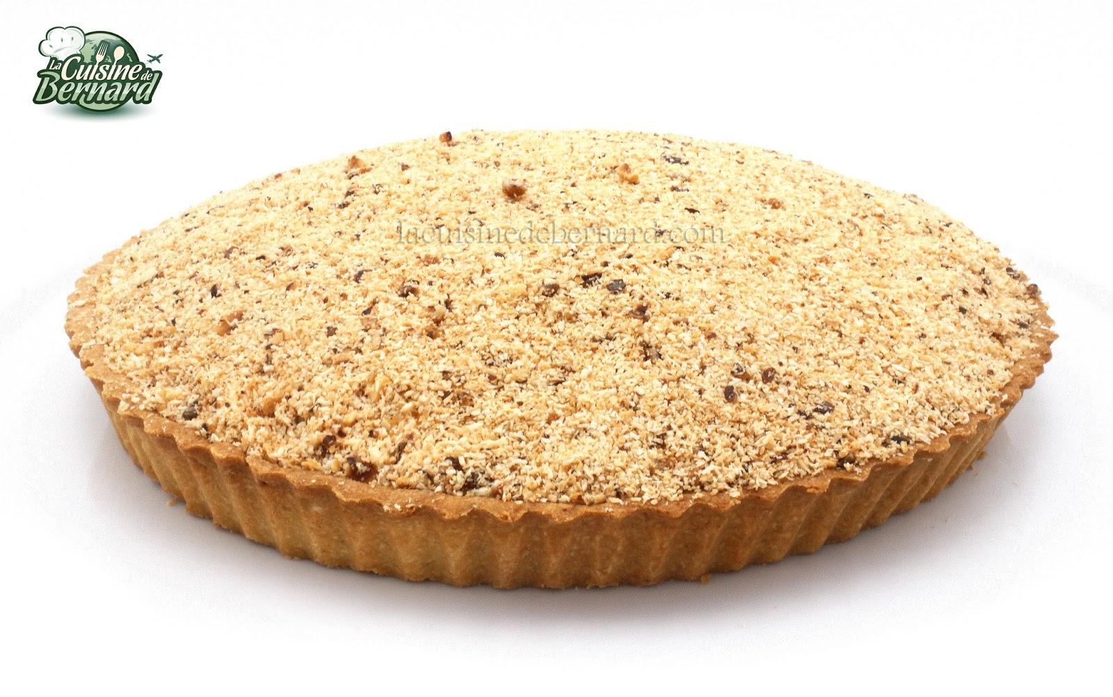La cuisine de bernard tarte banane coco noisettes - La cuisine de bernard tarte au citron ...