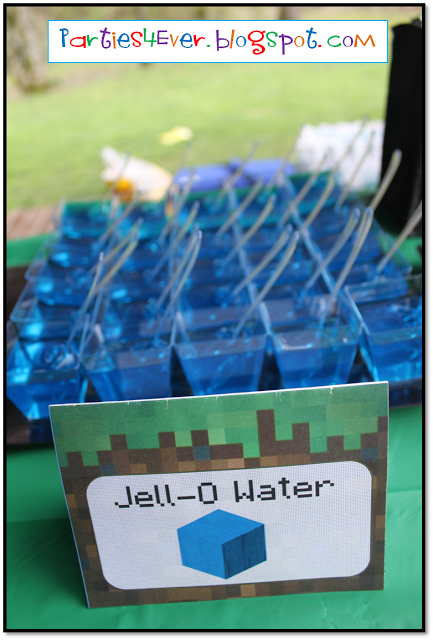 Edible Art: Minecraft Snacks and Appetizers.