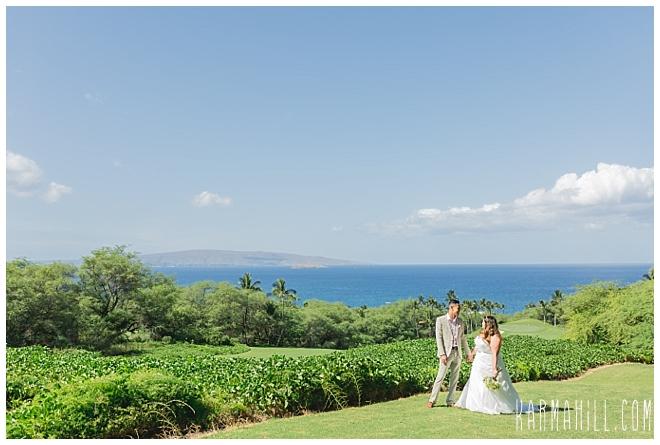 Maui Morning Wedding