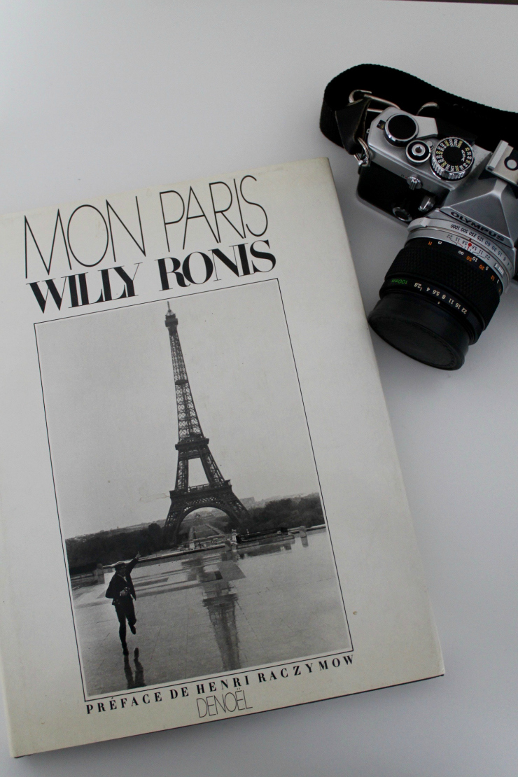 Mon Paris by Willy Ronis [Coffee Table Books for the Fashion Blogger]