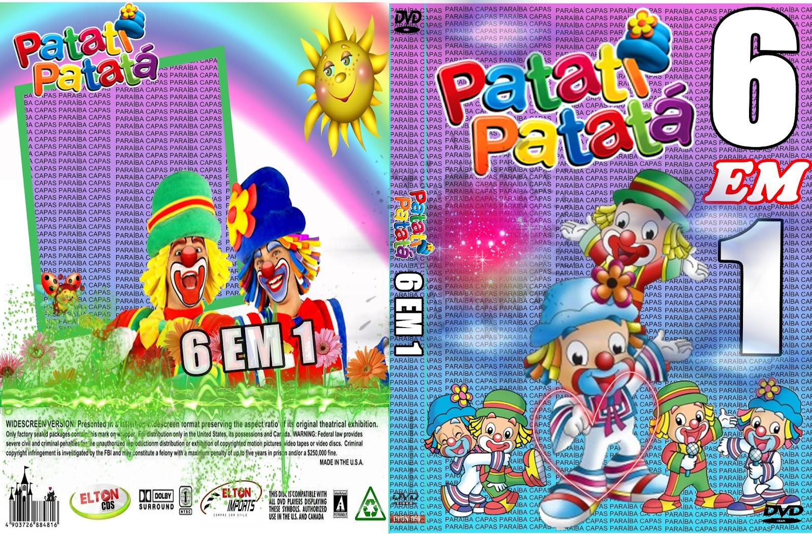 novo dvd patati patata 2012