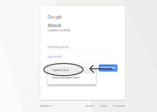 ciptakan akun cara membuat gmail