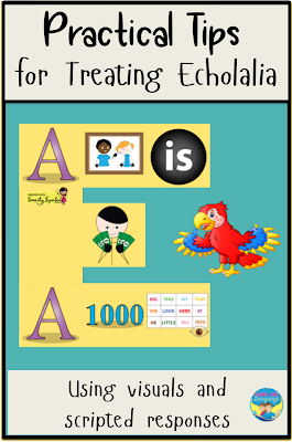 Read these practical tips for treating echolalia by Looks-Like-Language!