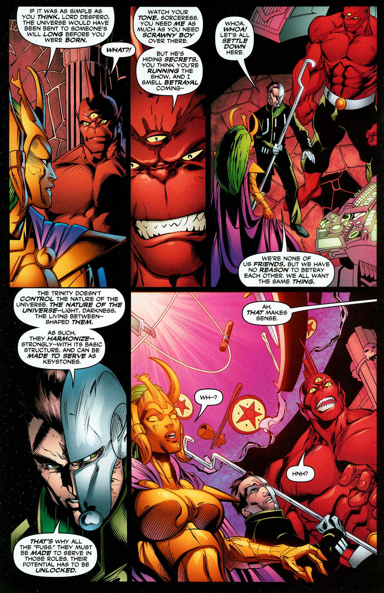 Read online Trinity (2008) comic -  Issue #15 - 4