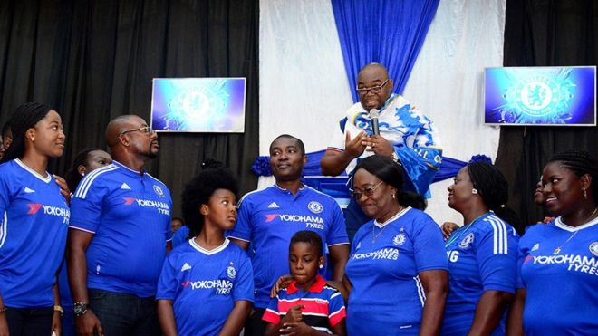 #Trending: Ghana church holds Chelsea thanksgiving service