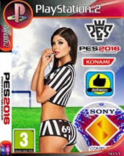 Pro Evolution Soccer 2016 com Campeonato Brasileiro 2016 (PS2)