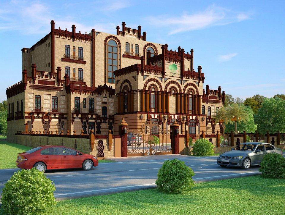 Front Elevation Of 10 Marla House Joy Studio Design