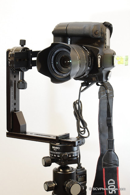 Multi-Row Panorama head w/ Camera & lens overview