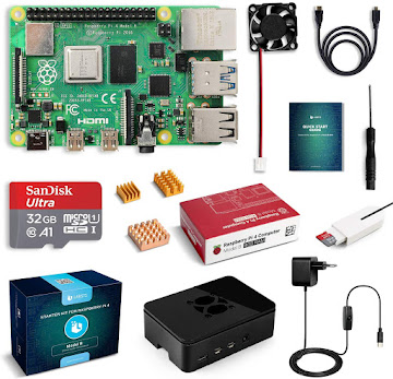 Raspberry Pi 4 Model B (4 GB) Kit
