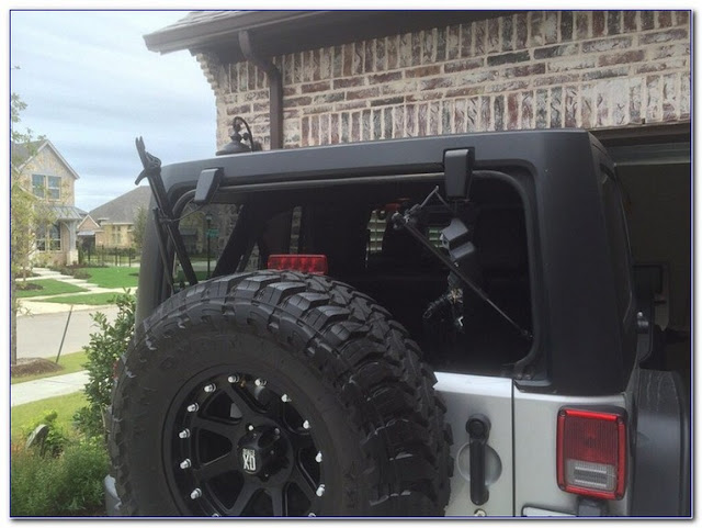 Jeep Wrangler Rear WINDOW GLASS replacement