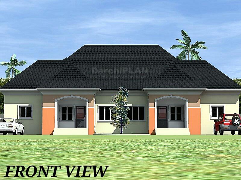 Nigeria building style architectural designs by darchiplan for Architectural designs in nigeria
