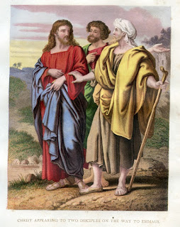 Christ appearing to two Disciples on the way to Emmaus