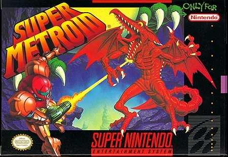 Super Metroid [Español] - Portada