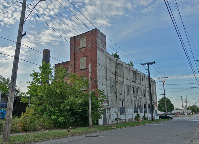 Abandoned A & G Headboard Co in Cleveland Ohio