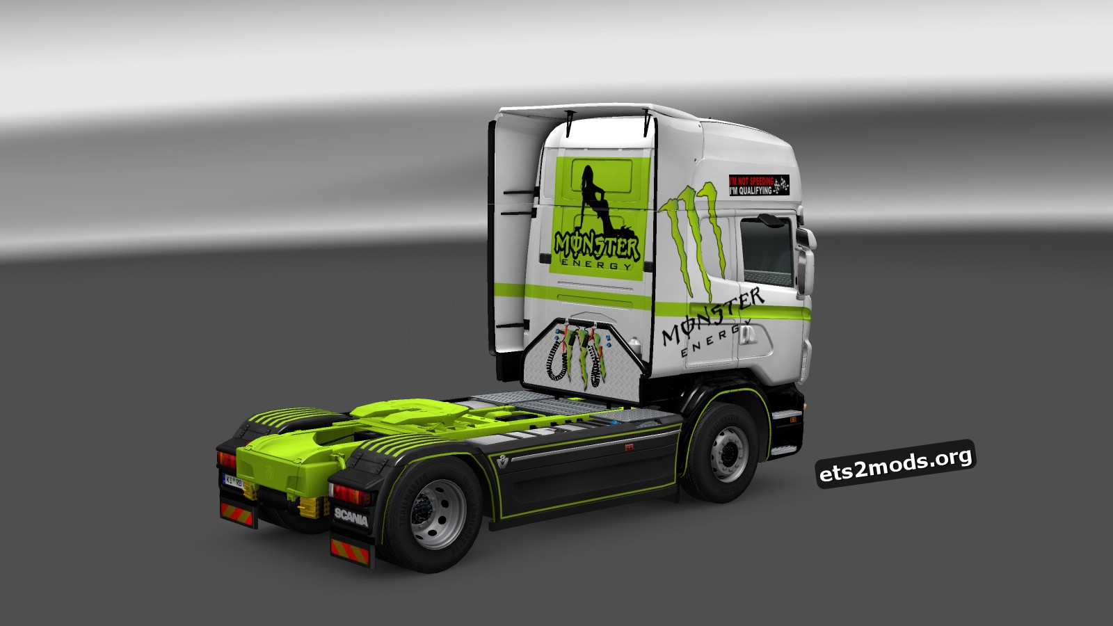 Monster Energy Skin for Scania RJL