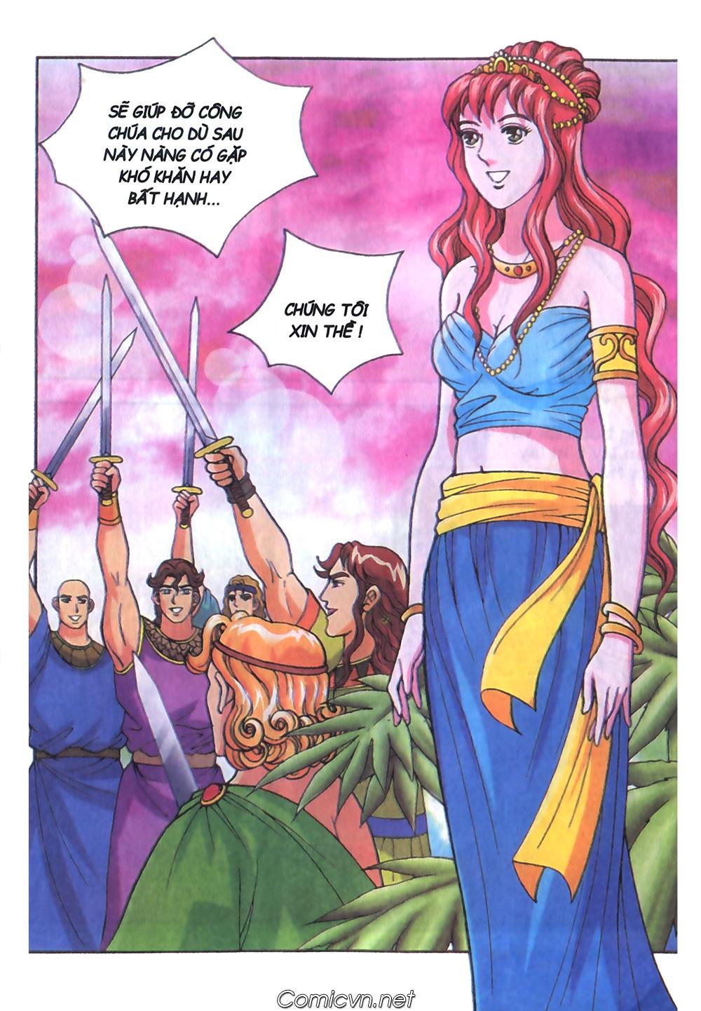 Thần Thoại Hy Lạp Màu - Chapter 51: Nàng công chúa Helen - Pic 16