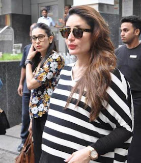 Kareena Kapoor gives a hint about her baby's name.