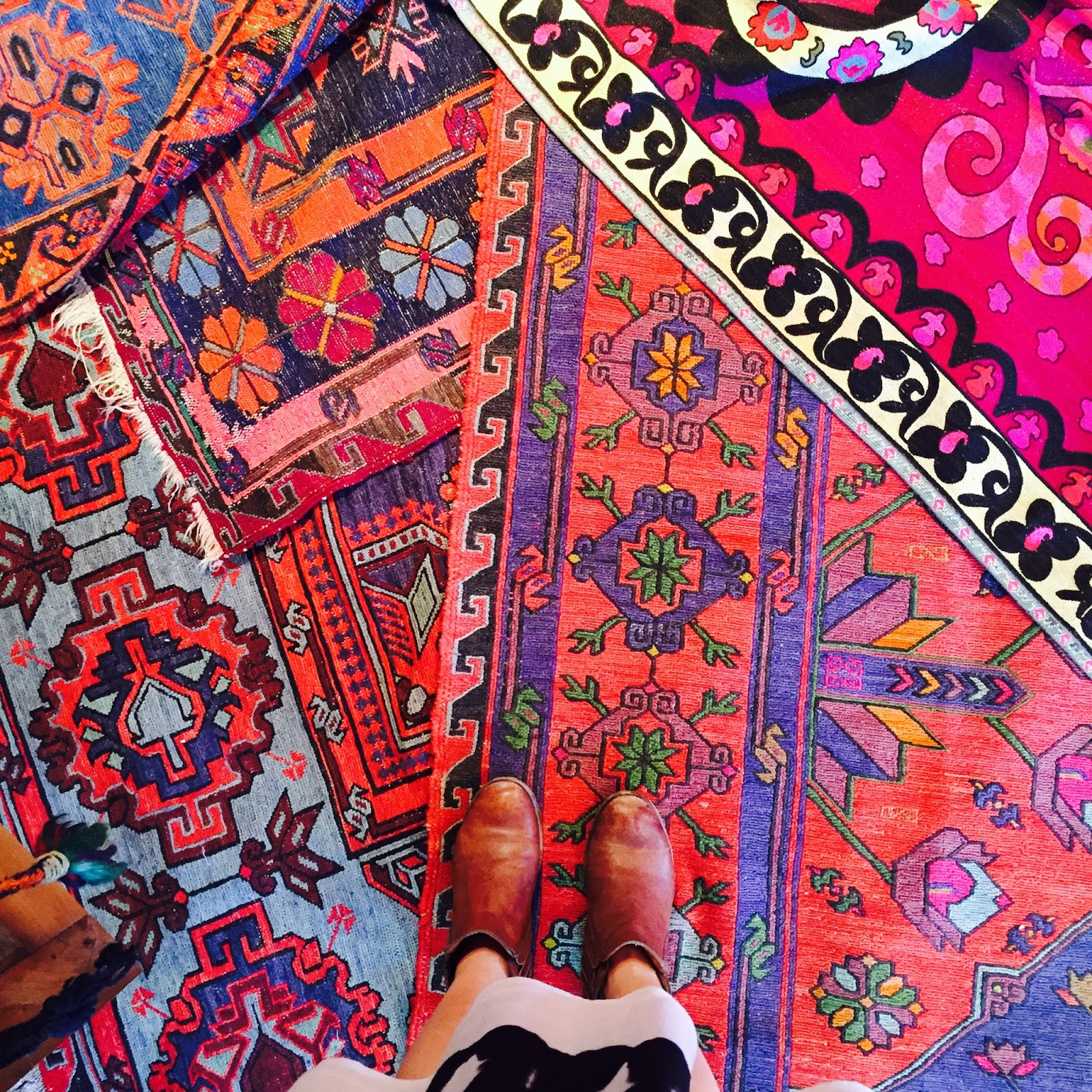 Colorful Turkish Rugs