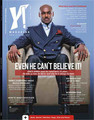 Tuface Idibia Covers Ymagazine...Wow He Looks.....*coughs* 1