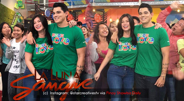 Photos: Angel Locsin and Richard Gutierrez in ABS-CBN Christmas Station ID