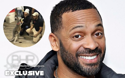 Mike Epps Brings Kangaroo On Stage , He Responds !!