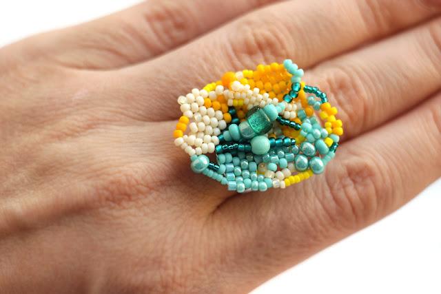 подарок любимой девушке что подарить яркое крупное кольцо безразмерное