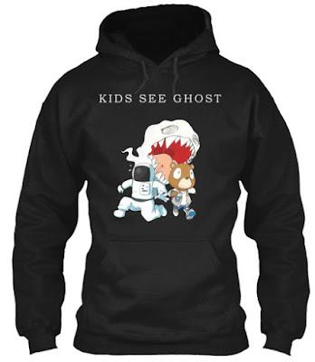 Kids See Ghosts T Shirt Hoodie Sweatshirt Shirts 2018