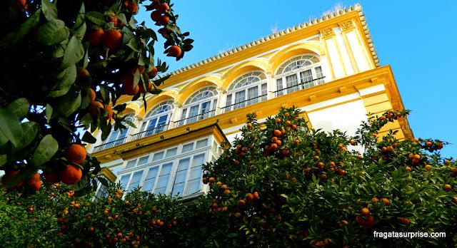 Praça de Doña Elvira, Bairro de Santa Cruz, Sevilha
